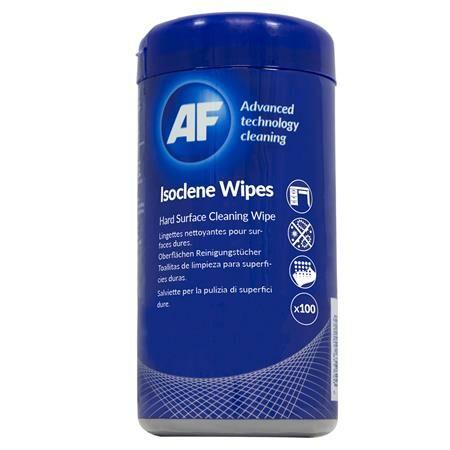 Image of Tisztítókendő, izopropil alkohollal, 100 db, AF Isoclene (TTIAISW100)