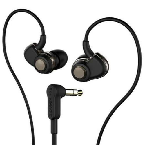 Fülhallgató, SOUNDMAGIC PL30+, fekete-szürke (SMFHPL30BGR)