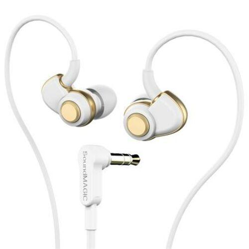 Fülhallgató, SOUNDMAGIC PL30+, fehér-arany (SMFHPL30WG)