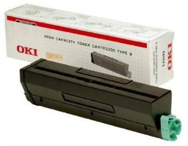 Image of 01101202 Lézertoner B4300, 4350 nyomtatókhoz, OKI fekete, 6k (TOOKI43)