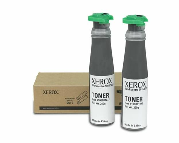 Image of 106R01277 Lézertoner WorkCentre 5020 nyomtatóhoz, XEROX fekete, 2*6,3k (TOXWC5020)