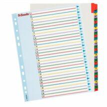 Regiszter, laminált karton, A4 Maxi, 1-31, újraírható, ESSELTE (E100210)