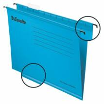 Függőmappa, újrahasznosított karton, A4, ESSELTE Classic, kék (E90311)
