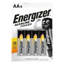 Elem, AA ceruza, 4 db, ENERGIZER Alkaline Power (EEAA4AP)