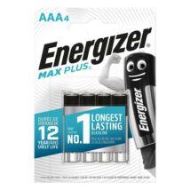 Elem, AAA mikro, 4db, ENERGIZER Max Plus (EEAAA4MP)
