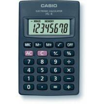Zsebszámológép, 8 számjegy, CASIO HL-4T (GCHL4)