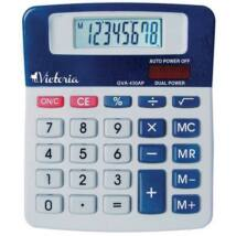 Számológép, asztali, 8 számjegy, VICTORIA GVA-430AP (GVA430AP)