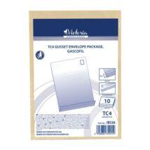 Redős-talpas tasak csomag, TC4, szilikonos, 50 mm talp, VICTORIA, barna gascofil (IBI26)