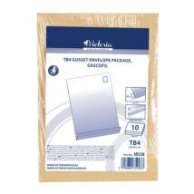 Redős-talpas tasak csomag, TB4, szilikonos, 50 mm talp, VICTORIA, barna gascofil (IBI28)