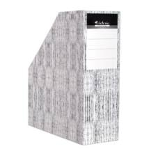 Iratpapucs, karton, 90 mm, VICTORIA, Textil (IDVPT)
