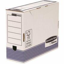 Archiváló doboz, 100 mm, BANKERS BOX® SYSTEM by FELLOWES®, kék (IFW00265)