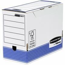 Archiváló doboz, 150 mm, BANKERS BOX® SYSTEM by FELLOWES®, kék (IFW00277)