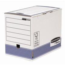 Archiváló doboz, 200 mm, BANKERS BOX® SYSTEM by FELLOWES®, kék (IFW00285)