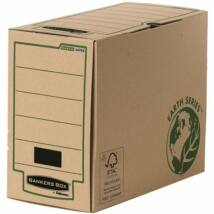Archiváló doboz, 150 mm, BANKERS BOX® EARTH SERIES by FELLOWES®, barna (IFW44703)