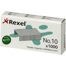 Tűzőkapocs, No.10, REXEL (IGTR06150)