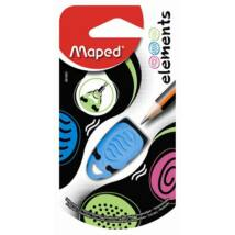Hegyező, egylyukú, MAPED Elements, vegyes színek (IMA1601)