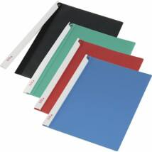 Gyorsfűző, hosszú klipes, PP, A4, PANTA PLAST, piros (INP4101905)