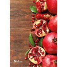 Füzet, tűzött, A4, sima, 96 lap, VICTORIA Fruit (ISVFPF496TS)
