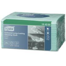 Tisztítókendő, W8 rendszer, TORK, 8 x 40 lap,  zöld (KHH559)