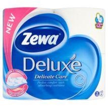 Toalettpapír, 3 rétegű, 4 tekercses, ZEWA Deluxe, fehér (KHHZ01)