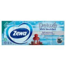 Papír zsebkendő, 3 rétegű, 10x10 db, ZEWA Deluxe, illatmentes (KHHZ06)