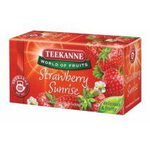 Gyümölcstea, 20x2,5 g, TEEKANNE Strawberry Sunrise, eper (KHK273)