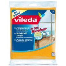 Ablaktörlő kendő, 30  százalék  mikroszállal, VILEDA (KHTV31)