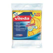 Törlőkendő, 30 százalék  mikroszállal, 6 db, VILEDA (KHTV59)
