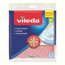 Mosogatókendő, 30 százalék  mikroszállal, 2 db, VILEDA (KHTV60)
