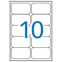 Etikett, univerzális, 99,1x57 mm, kerekített sarkú, APLI, 1000 etikett/csomag (LCA2411)