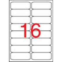 Etikett, univerzális, 99,1x34 mm, kerekített sarkú, APLI, 1600 etikett/csomag (LCA2418)