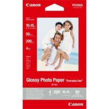 GP-501 Fotópapír, tintasugaras, 10x15 cm, 200 g, fényes, CANON (LCGP501)