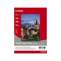 SG-201 Fotópapír, tintasugaras, A4, 260 g, félfényes, CANON (LCSG201A4)