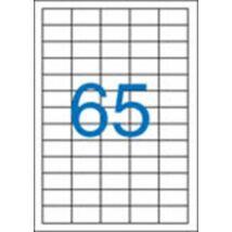 Etikett, univerzális, 38x21,2 mm, VICTORIA, 6500 etikett/csomag (LCV11364)