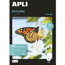 Fotópapír, tintasugaras, A4, 180 g, fényes, APLI Everyday (LEAA11475)