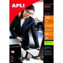 Fotópapír, tintasugaras, A3, 120 g, matt, APLI Presentations (LEAA4462)
