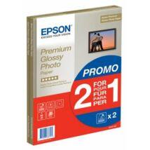 S042169 Fotópapír, tintasugaras, A4, 255 g, fényes, 2x15 oldal, EPSON (LEPS169)