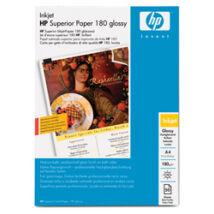 C6818A Fotópapír, tintasugaras, A4, 180 g, fényes, HP (LHPC6818A)