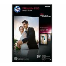 CR677A Fotópapír, tintasugaras, 10x15, 300 g, fényes, HP (LHPCR677A)