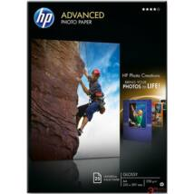 Q5456A Fotópapír, tintasugaras, A4, 250 g, fényes, HP (LHPQ5456A)
