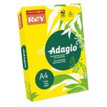 Másolópapír, színes, A4, 80 g, REY Adagio, intenzív sárga (LIPAD48IS)