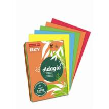 Másolópapír, színes, A4, 80 g, 5x100 lap, REY Adagio, intenzív mix (LIPAD48IX)