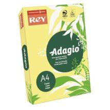 Másolópapír, színes, A4, 80 g, REY Adagio, neon banán (LIPAD48NB)