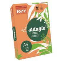 Másolópapír, színes, A4, 80 g, REY Adagio, neon mandarin (LIPAD48NM)
