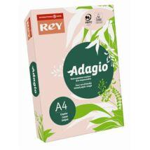 Másolópapír, színes, A4, 80 g, REY Adagio, pasztell rózsaszín (LIPAD48PR)