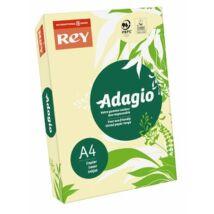 Másolópapír, színes, A4, 80 g, REY Adagio, pasztell sárga (LIPAD48PS)