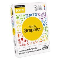 Másolópapír, A4, 90 g, REY Text and Graphics (LIPRTG490)