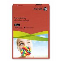 Másolópapír, színes, A4, 80 g, XEROX Symphony, sötétpiros (intenzív) (LX93954)