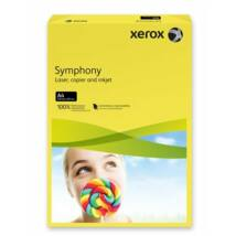 Másolópapír, színes, A4, 160 g, XEROX Symphony, sötétsárga (intenzív) (LX94275)