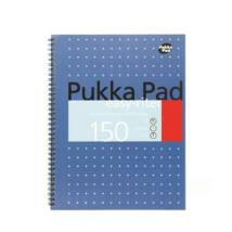 Spirálfüzet, A4+, vonalas, 75 lap, PUKKA PAD, Easy-riter, kék (PUPBERM9V)